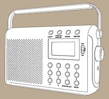 Digital radio by Richard Heyes