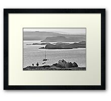 Loch Dunvegan from Colbost, Isle of Skye Framed Print
