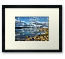 Kent Viaduct and Arnside Pier Framed Print