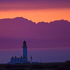 Tranquil Turnberry Lighthouse by chris-kemp