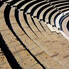 Seating - The Large Theatre - Pompeii by Samantha Higgs