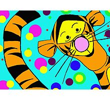 I'm so wonderful because I'm Tigger...and Tigger's are wonderful things!!! © Photographic Print