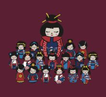 Kokeshi Dolls by Lighthouse Project