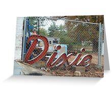 Dixie Greeting Card