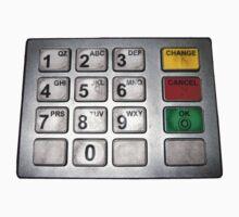 ATM keypad by sbyrne
