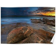 Sunset at Maroubra Poster