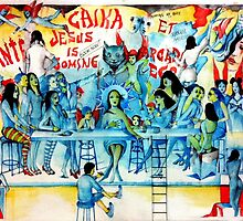 The Last Supper Before The Apocalypse  by John Dicandia  ( JinnDoW )