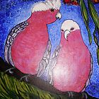 Colourful Galahs by Trish Loader