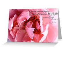 Joy From Loving You Greeting Card