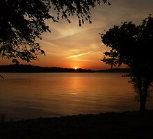 Lake Barkley Sunset by Amy Herrfurth