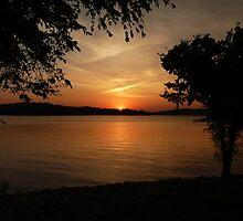 Lake Barkley Sunset by Amy Herrfurth