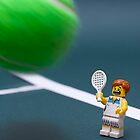 Wimbledon - Lego style! by Kevin  Poulton - aka 'Sad Old Biker'