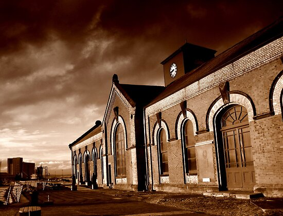 Titanic pump house, Belfast by Chris Millar