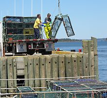 Stacking Lobster Traps by RevJoc