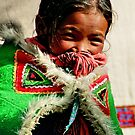 himalayan girl. northern india by tim buckley | bodhiimages