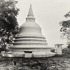Buddhist Vihara - Lanaktilaka Temple by Dilshara Hill