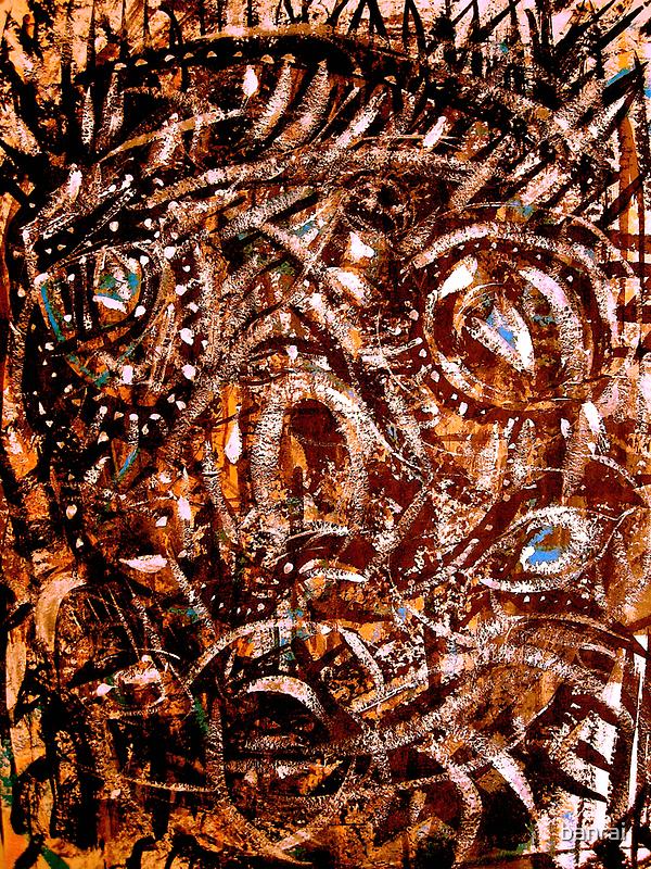 ancient mask by banrai