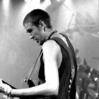 Bass Player by Mark Batten-O'Donohoe
