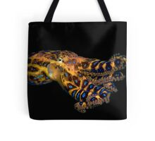 Blue Ringed Octopus Tote Bag