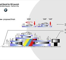 Proposed stand for launch BMW-Z4 South Africa by Joy45