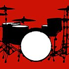 Drum kit by Richard Heyes
