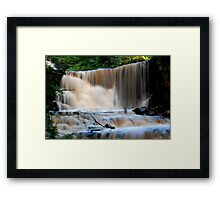 Hunneberg Waterfall Framed Print