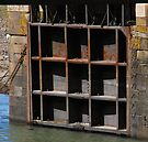 Porlock Lock Gate  by SWEEPER