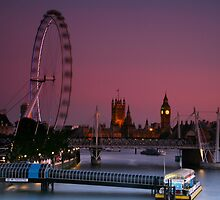 """London's Lights"" by Bradley Shawn  Rabon"