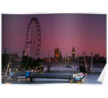 """London's Lights"" Poster"