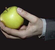 Green Apple by Izabela Kielich