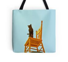 Chair Art China Town Tote Bag