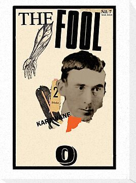 Dada Tarot-The Fool by Peter Simpson