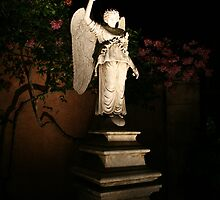 Angel at Night by Hope A. Burger