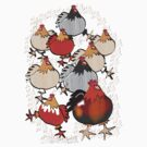 Chooks by Diana-Lee Saville