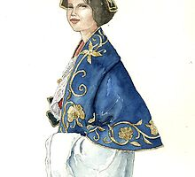 Albanian traditional costume 2 of Piana Degli Albanesi by vimasi