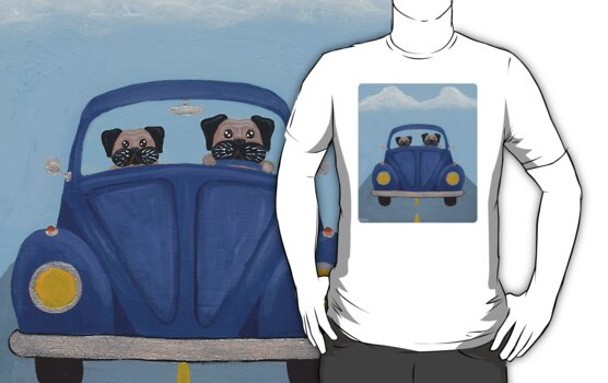 Pugs in a Bug by Ryan Conners