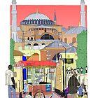 Hagia Sophia, Istanbul, Turkey by Steve Wiltshire