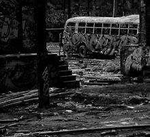Rozelle Tram Depot - Shark Bus by LiamCameron