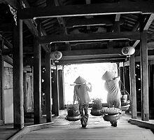 Japanese covered  bridge, Hoi An, Vietnam. by John Mitchell