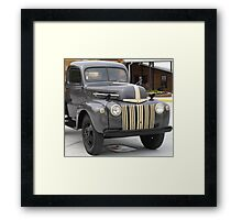 Close Up Ford Truck - Tennessee Framed Print