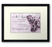 Too Precious For Earth (girl) Framed Print