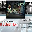Michel Verhoef, Solo Exhibition Banner by solo-exhibition
