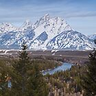 Snake River, Grand Teton by Eivor Kuchta