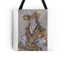 The Feathered Hat or El Sombrero Con Plumas Tote Bag