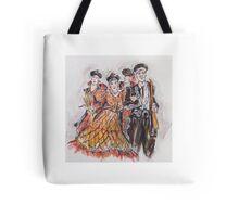 Group of Bandoleros or Grupo de Bandoleros Tote Bag