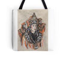The Brave Queen or La Reina Valerosa Tote Bag
