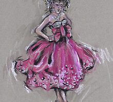 The Pink Dress or El Vestido Rosa by Jill Bennett