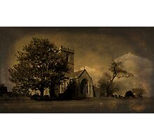 The Parish Church of St Andrew | Texture Photographic Print