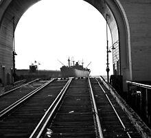 Rails to the Sea - San Francisco, CA by Michael Mavor