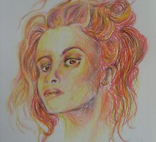 Helena Bonham Carter  by Chantel Smith